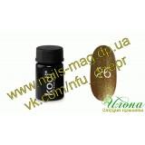 Цветная гель-краска KODI №26 золотой металлик, 4мл