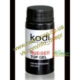 Rubber Top (Каучуковое верхнее покрытие для гель лака) KODI Professional, 22мл