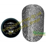 Gel Glam 009 Deep Dark Silver, 5 мл