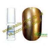 Гель-лак Хром №04 Сияющий коричневый, 5мл