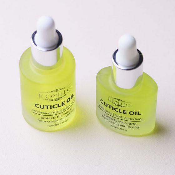 Komilfo Citrus Cuticle Oil — цитрусовое масло для кутикулы с пипеткой