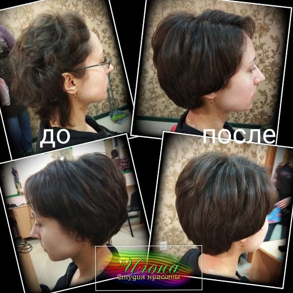 Стильная стрижка, красиво уложенные волосы способны создать неповторимый образ;)