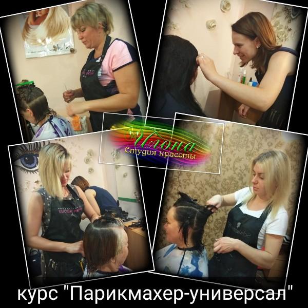 Наши красавицы-феи уже создают красоту;))