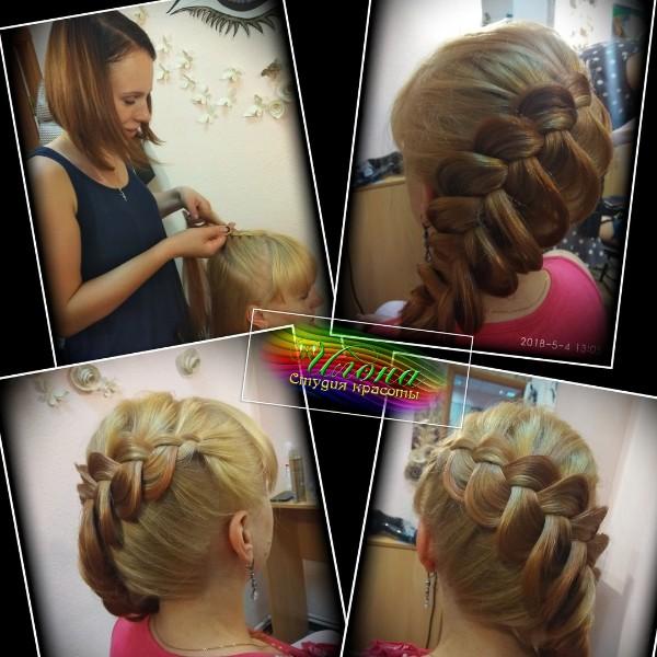 Нельзя оставаться равнодушным к различным плетениям из волос;)