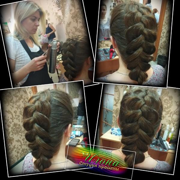 Плетение, выполненное на волосах, способно добавить женственности в любой образ.