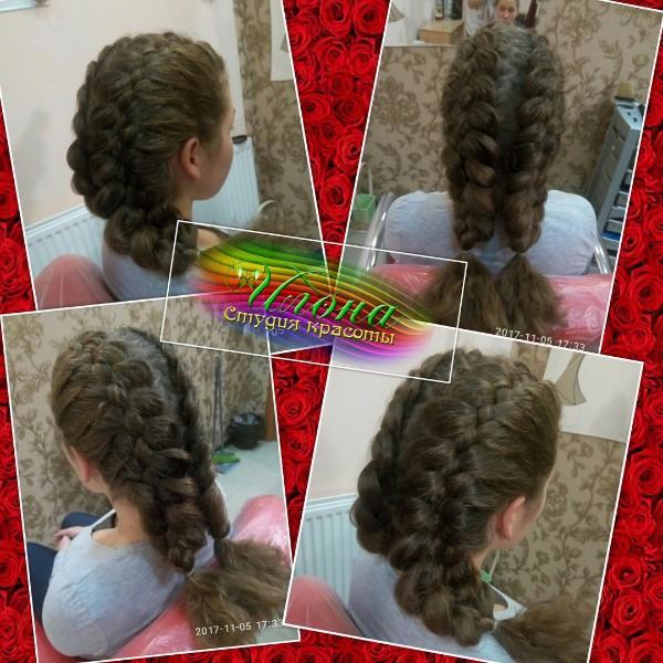 1-й день обучения курс Современное плетение кос